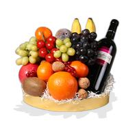 Fruitmand Wijn bezorgen