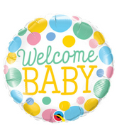 Welcome Baby Ballon
