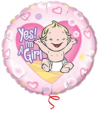 I'm a Girl Ballon