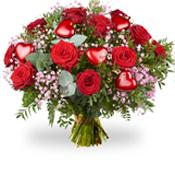 Boeket rozen Valentijn
