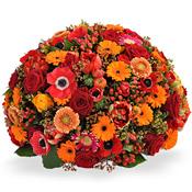 Rouwbiedermeier Rood & Oranje