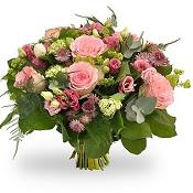 Elegant roze boeket