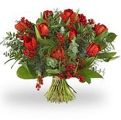 Kerstboeket Tulpen