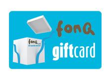 fonQ.nl Cadeaukaart