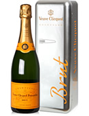 Veuve Clicquot Metal Fridge