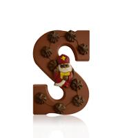 Sierlijke Chocoladeletter 12 stuks