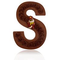 Sierlijke Chocoladeletter XL 10 stuks