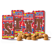 4 Tony's Chocolonely SINT letters