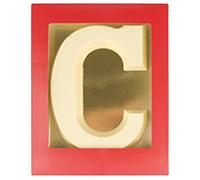 Chocoladeletter Wit - 200 gram