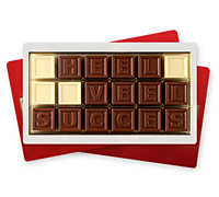 Choco Telegram Veel Succes