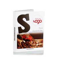 Letter in luxe logo verpakking