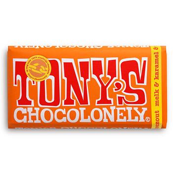 Tony's Chocolonely Karamel-Zeezout