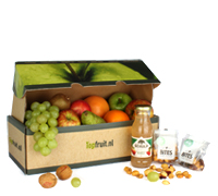 Fruitbox met Fruit & Noten of snoep