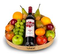 Fruitmand Wijn - Rood
