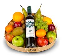 Fruitmand Wijn - Wit