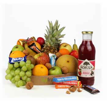 Fruitmand Snoep XL