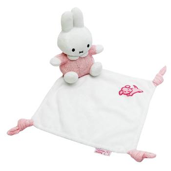 Nijntje Knuffeldoekje Roze