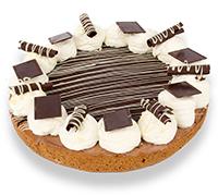 Luxe Chocoladebavaroisvlaai