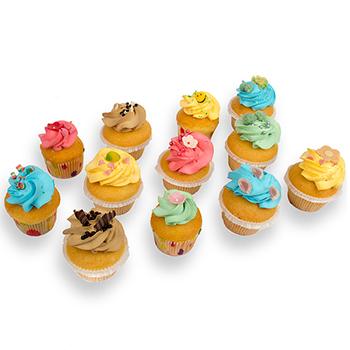 Cupcakes - 9 of 15 stuks