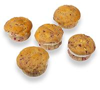 Framboos & Witte Chocolade Muffins