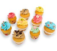 Cupcakes - 12 stuks