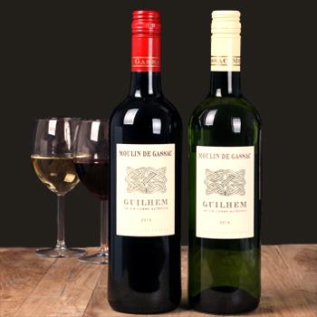 klein flesje wijn